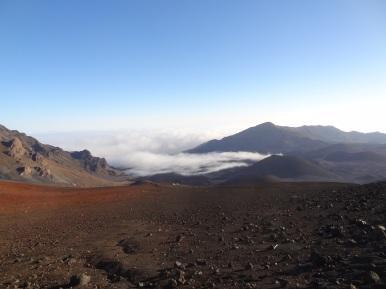 Blick in den Haleakala Krater