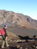 Unterwegs im Krater